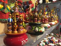 Matruşka. Some colorful stacking dolls from my trip to Moscow Royalty Free Stock Images