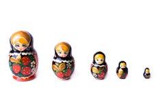 matrushka zabawki. obrazy royalty free