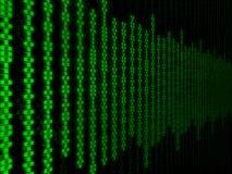 Matryca binarna Obraz Stock
