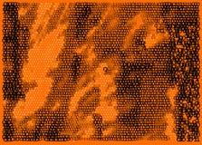 matryca zero pomarańczowi zero Zdjęcie Stock