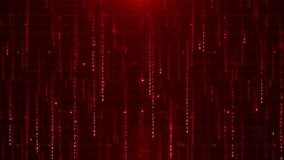 Matrycowych dane cyfrowy tekst ilustracji
