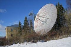 Matrycuje drugi radiowego teleskop przy Pulkovo obserwatorium Zdjęcie Stock