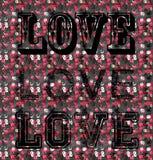 Matrycuje miłości Fotografia Stock