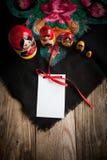 Matryoshka и головной платок Стоковые Изображения