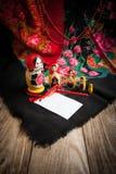Matryoshka и головной платок Стоковые Фотографии RF