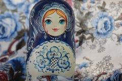 Matryoshka сувениров деревянных кукол русское Стоковые Фотографии RF