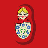 Matryoshka vector Stock Photography