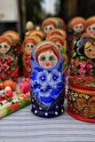 Matryoshka Stock Foto's