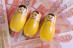Matryoshka Stockfoto