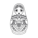 Matryoshka. Babushka doll. Stock Photography