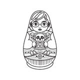 Matryoshka. Babushka doll. Royalty Free Stock Photography