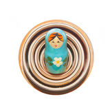 Matryoshka - Babushka Russian Nested Dolls Stock Photo