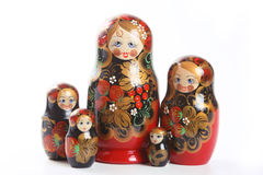 Matryoshka - bambole intercalate russe Immagine Stock