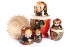 Matryoshka - bambole intercalate russe Immagini Stock
