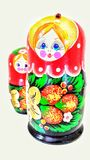 The Matryoshka Royalty Free Stock Image