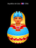 Matryoshka Cuba Royalty Free Stock Photos