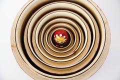 Matryoshka de madera imagen de archivo