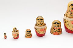 Matryoshka doll Royalty Free Stock Photo