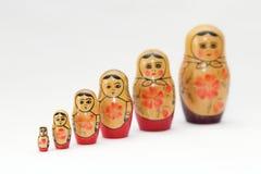 Matryoshka doll Royalty Free Stock Photos