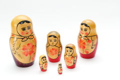 Matryoshka doll Stock Photos