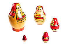 Matryoshka doll set Stock Photo