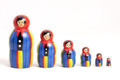 Matryoshka Dolls Royalty Free Stock Photo