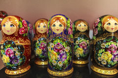 Matryoshka Dolls, Russia Stock Images