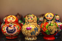 Matryoshka Dolls, Russia Royalty Free Stock Photography