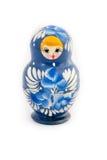Matryoshka isolated on white background. Russian nesting dolls ( babushkas or matryoshkas ) on white background Stock Image