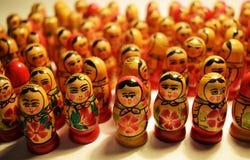 Matryoshka. A kind, unique, extraordinary, amazing, unlike other identities Stock Image