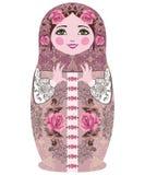 Традиционные русские куклы matryoshka (matrioshka) Стоковые Фото
