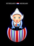Matryoshka Netherlands Royalty Free Stock Images