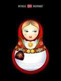 Matryoshka Norway Stock Images
