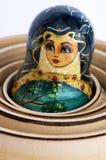 Matryoshka - o russo aninhou bonecas Fotografia de Stock