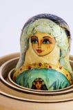 Matryoshka - o russo aninhou bonecas Fotos de Stock
