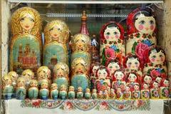 Matryoshka pelo tamanho Imagens de Stock