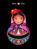Matryoshka Peru Stock Images