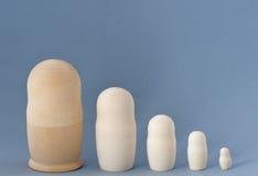 Matryoshka (poupée d'emboîtement) Images libres de droits