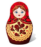Matryoshka Puppe Lizenzfreies Stockbild