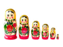 Matryoshka-Puppe stockfotografie