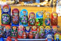 Matryoshka Puppen Stockbild