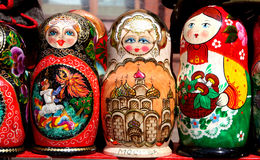 Matryoshka - Russian Doll. Stock Image