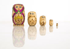 Matryoshka russian doll Royalty Free Stock Photography