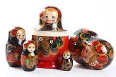 Matryoshka - Russian Nested Dolls Royalty Free Stock Images