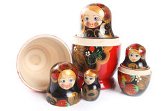 Matryoshka - Russian Nested Dolls Stock Images