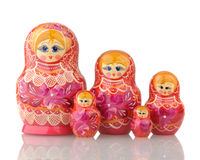 Matryoshka - A Russian Nested Dolls Royalty Free Stock Image