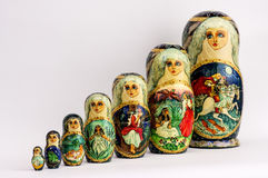 Matryoshka - Russian Nested Dolls Stock Image