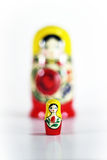 Matryoshka Russian Nesting Doll Stock Images