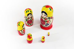 Matryoshka Russian Nesting Dolls Royalty Free Stock Images