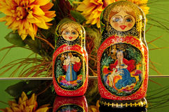Matryoshka , Russian symbol,toy Royalty Free Stock Photo